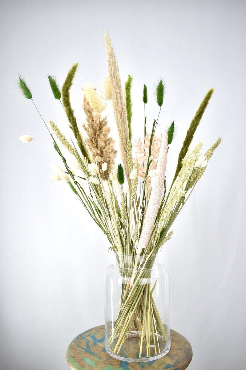 Droogbloemen - 70 cm - Green Vibes - Natuurlijk Bloemen