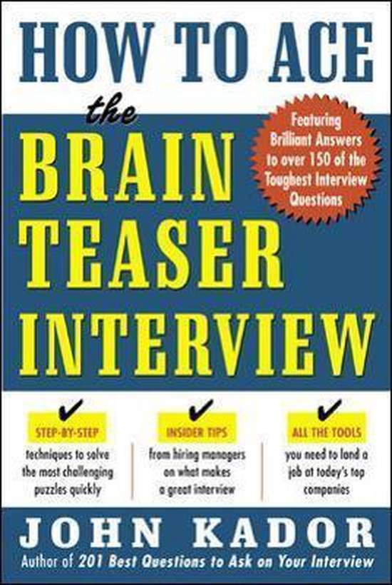 How to Ace the Brainteaser Interview