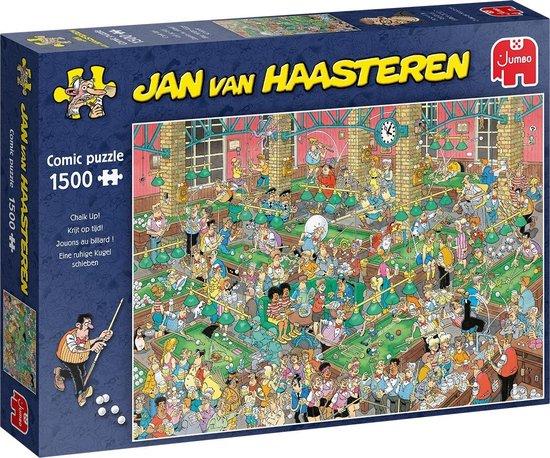 Jan van Haasteren Krijt op Tijd! Puzzel 1500 stukjes