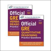 Boek cover Official GRE Value Combo van Educational Testing Service
