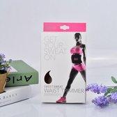 Sweet Sweat - Waist Trimmer/Trainer/Shaper - Afslankband - Sauna Belt - Roze