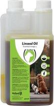 RelaxPets - Lijnzaadolie - Linseed Oil - Hond & Kat - Spijsverteringstelsel, Darmwerking, Huid- en Vachtverzorging - 500 ml
