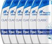 Head & Shoulders Classic - Voordeelverpakking 6 x 285 ml - Anti-roos Shampoo