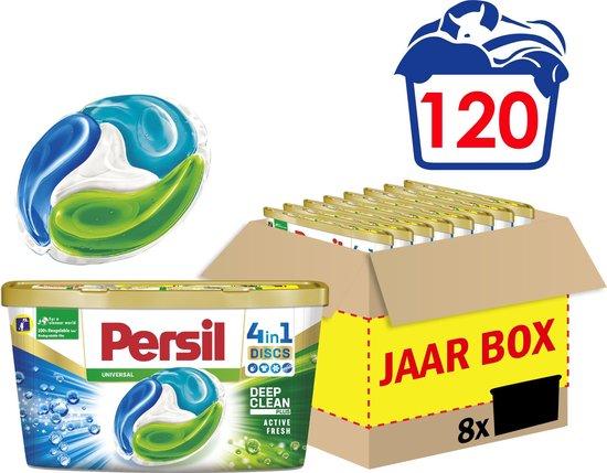 Persil 4in1 Discs Universal Wascapsules - Wasmiddel Capsules - Voordeelverpakking - 8 x 15 wasbeurten