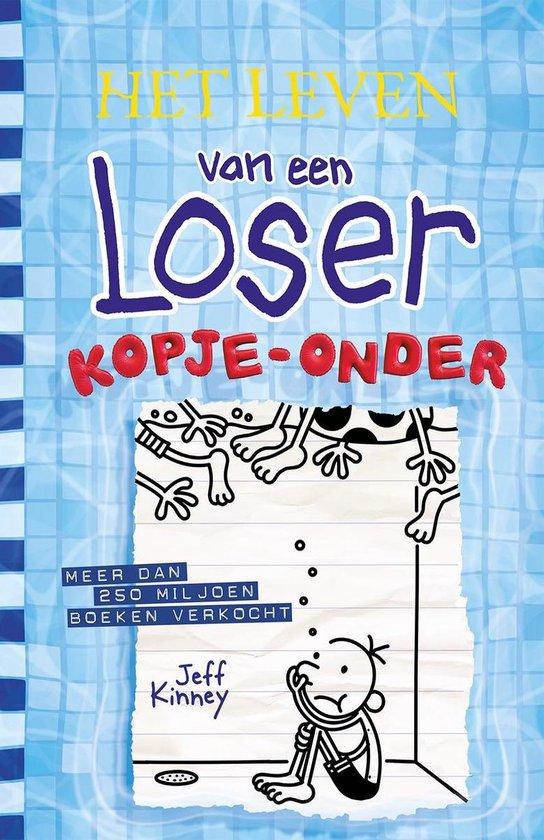 Boek cover Het leven van een Loser 15 -   Kopje-onder van Jeff Kinney (Hardcover)