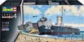 1:144 Revell 05169 US Navy Landing Ship Medium (Bofors 40mm Gun) Plastic kit