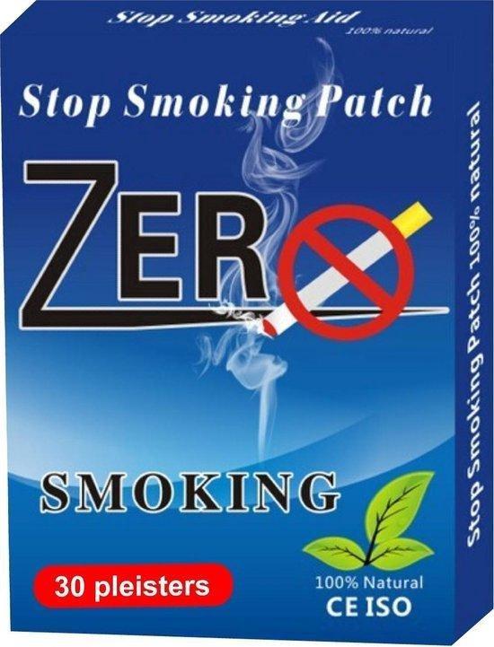 Stoppen met roken pleisters 100% natuurlijk 30 stuks voor 1 maand - nicotinevervangers - anti nicotinepleisters -anti rookpleisters