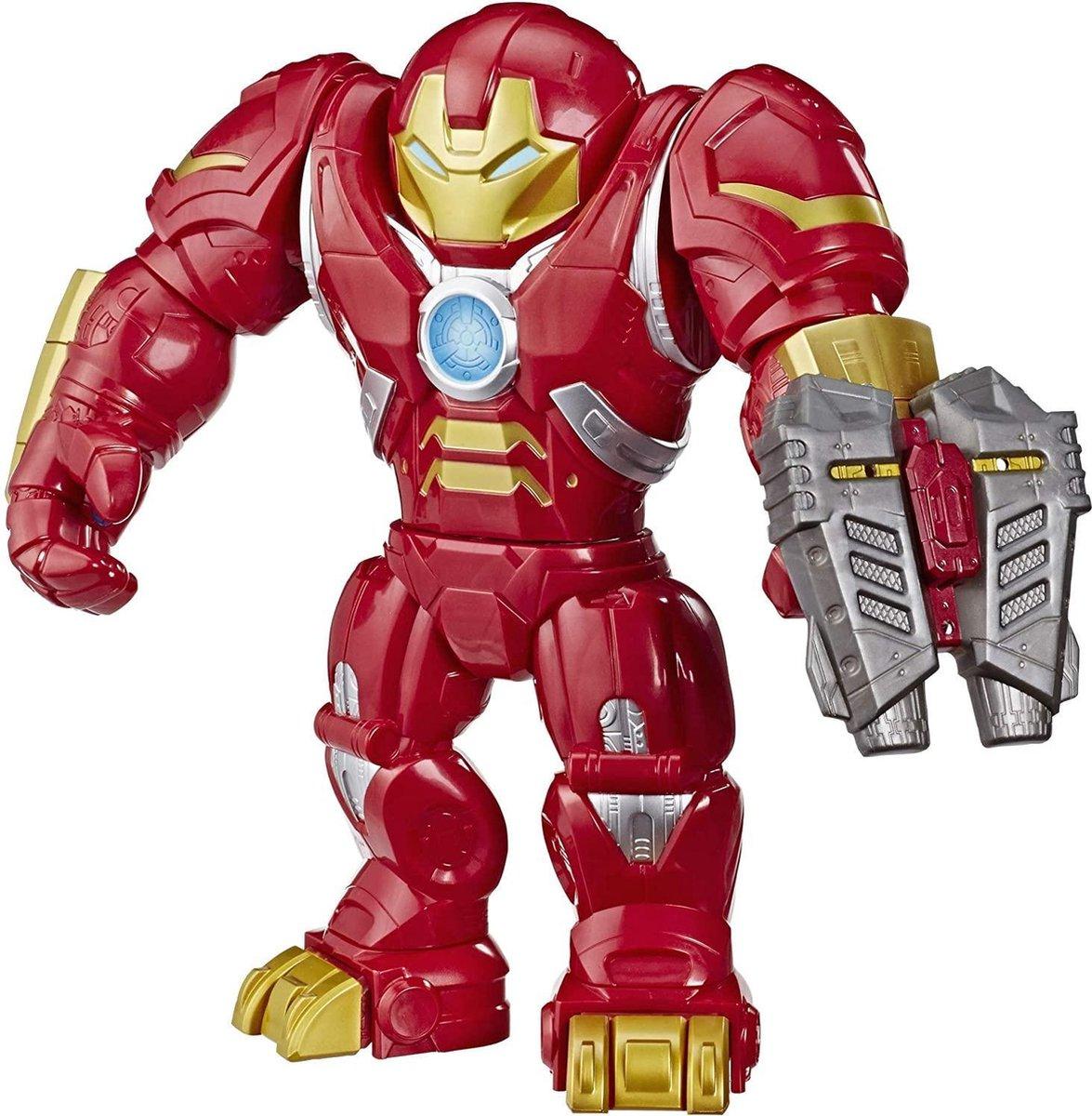 Marvel Super Hero Adventures - Mega Mighties - Iron Man Hulkbuster Armor - Speelfiguur