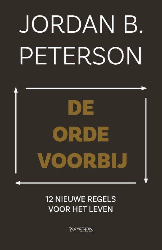 Boek cover De orde voorbij van Jordan Peterson (Paperback)
