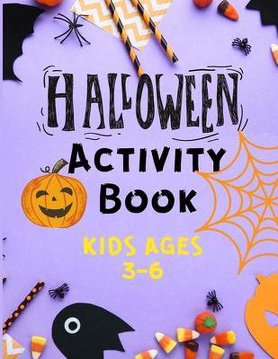 Halloween Activity Book Kids Ages 3 -6