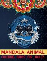 Mandala Animal Coloring Books For Adults