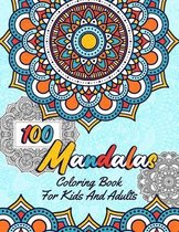 100 Mandalas Coloring Book