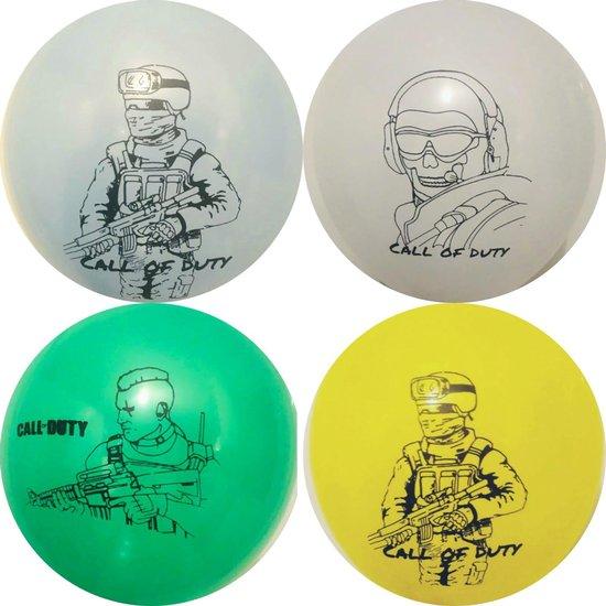 Call Of Duty -Ps4-Game- Ballon-Latex-1 Set- 12 Stuks