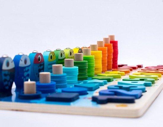 Thumbnail van een extra afbeelding van het spel 101 delig leerbord kind - Voor het leren van cijfers/kleuren/tellen