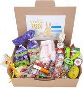 Geschenk Pakket Pasen - Snoep - Chocolade - Eitjes - Assortiment - Om Te Versturen