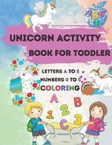 Unicorn Activity Book for Toddler