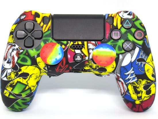 Playstation 4 Skin   Controller hoesje + Thump grips   Games