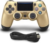 Wireless Playstation 4 Controller (Goud) -  PS4 Controller