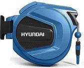 Hyundai wandslangenbox / wandslangbox / autoreel / wandslanghaspel / wandslanghouder / muurhaspel - 20 meter x 8 mm - inclusief 4-delige tuinsproeiset