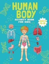 Human Body Activity Book for Kids Ages 4-8