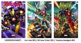 Marvel Strip Voordeelpakket !  3X nr 1   iron man , all new x men  en Uncanny avengers