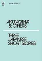 Boek cover Three Japanese Short Stories van Ryunosuke Akutagawa (Onbekend)