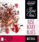 Pickwick Slow Tea Berry Blues Pak 25 theezakjes van 3 gram