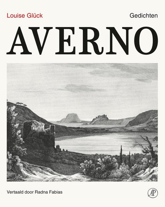 Boek cover Averno van Louise Gluck (Hardcover)