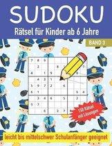 Sudoku Ratsel fur Kinder ab 6 Jahre Leicht bis Mittelschwer Schulanfanger geeignet