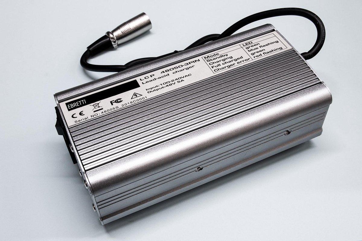 Ebretti 318 / 518   Acculader Origineel - Elektrische Scooter