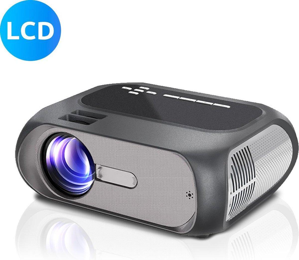 Dailygoods Mini Beamer – HD – Beamer Projector- HDMI – WiFi - 5000 Lumen