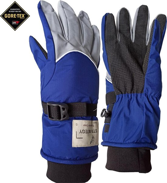GORE-TEX® Outdoor strategy fiets wandel ski motor handschoen inclusief liners warm en 100% waterdicht Maat M