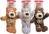 Kong Wild Knots Beer - Hondenspeelgoed - Assorti - M - 25 x 20 x 10 cm