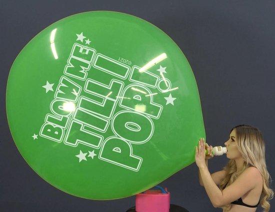 2 Cattex reuze ballonnen - Blow Me Till I Pop - 36 inch - 90 cm - grote ballonnen