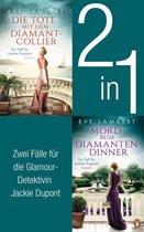 Die Jackie Dupont Reihe Band 1 und 2: Die Tote mit dem Diamantcollier/ Mord beim Diamantendinner (2in1-Bundle)