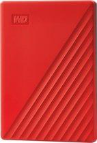 Western Digital My Passport - Externe harde schijf - 4 TB Rood