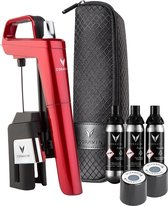 Coravin Model Six Candy Apple Red - Kunststof - 10x5x21,5 cm - Rood