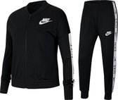 Nike Nike Sportwear Trainingspak - Maat 134  - Unisex - zwart/wit