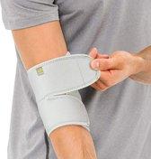 Bracoo ES10 Elleboogbandage - verstelbare neopreen Elleboogbrace - rechter/linker elleboog - één stuk - grijs