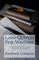 1,000 Quotes For Writers