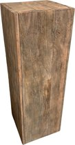 Zuil/sokkel/pilaar hout 80cm