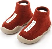 Antislip baby schoentjes - eerste loopschoentjes – Completebabyuitzet - maat 20,5 – 6-12 maanden – rood