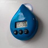 Douche timer - Douchewekker - Timer voor de douche - Water besparend - Tijd besparend - Showertimer - Douche wekker - Douche klok - Douche timer digitaal - Spatwaterdichte timer