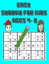 Easy Sudoku For Kids Ages 4-8
