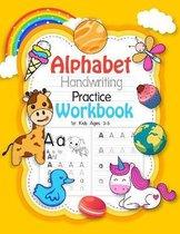 Alphabet Handwriting Practice Workbook for kids ages 3-5