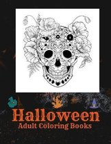 Halloween Adult Coloring Books