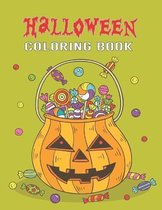 Halloween Coloring Book: A Spooky Coloring Book For Kids