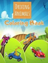 Driving Animals Coloring Book
