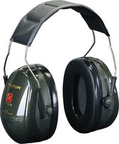 3M Peltor Optime II - gehoorbescherming - SNR 31 dB - donkergroen