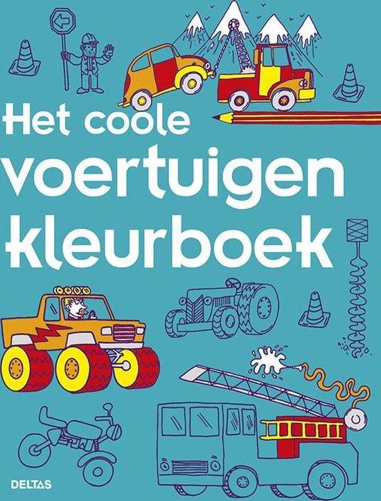 Kleurboek - Het coole voertuigen kleurboek
